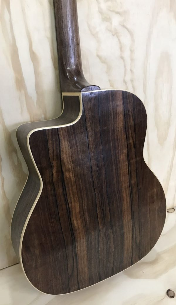 luthier Gerónimo Mateos Guitarra modelo Django