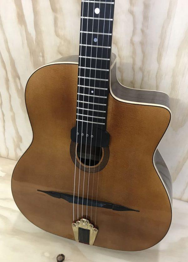 Guitarra modelo Django luthier Gerónimo Mateos