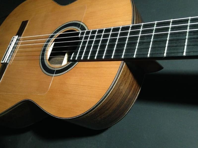 Guitarra Flamenca modelo Emilia, Gerónimo Mateos e Hijos