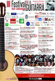 programación III Festival Internacional de la Guitarra