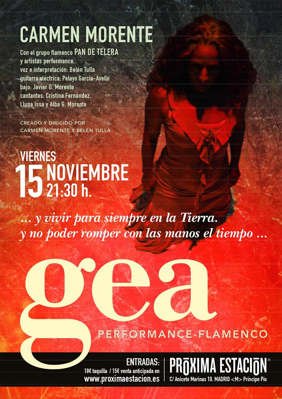 Flamenco 15 de Noviembre en Madrid