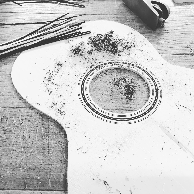 Tapa armónica guitarra Manouche