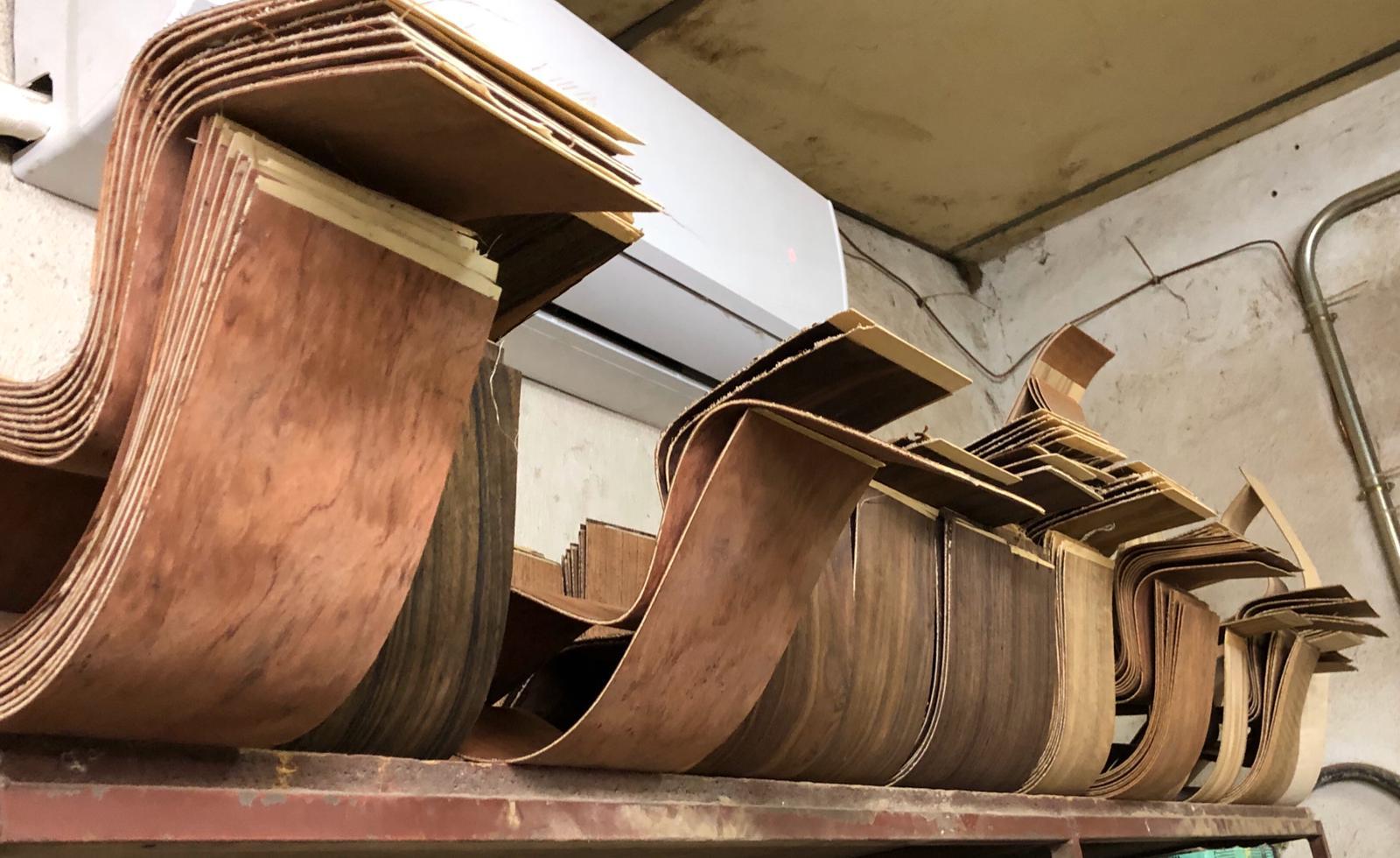 Elección de las maderas de las guitarras. Gerónimo Mateos