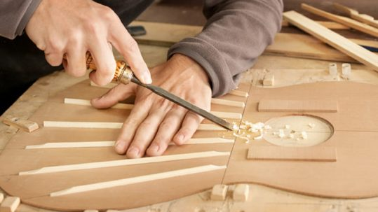 luthier en Madrid Gerónimo Mateos